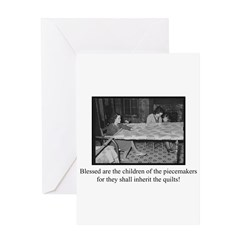 Inherit the Quilts Greeting Card