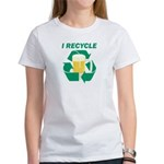 I Recycle Beer Women's T-Shirt
