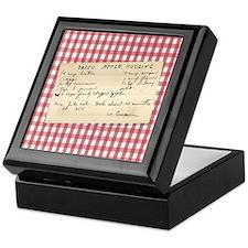 Apple Pudding Keepsake Box