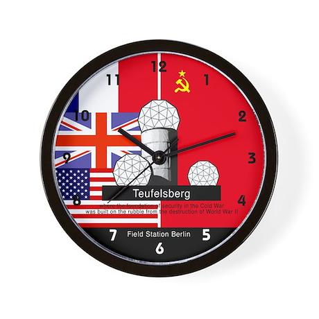 FIeld Station Berlin Wall Clock