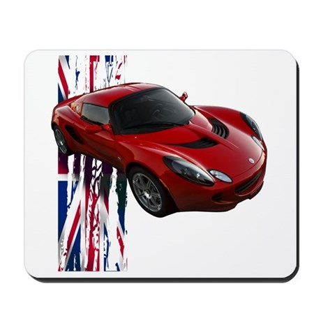 Ardent Red Elise Mousepad