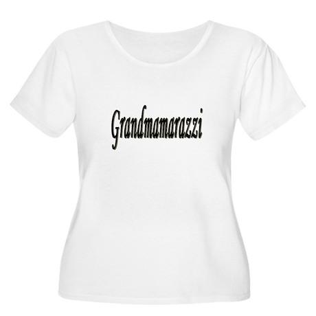 Grandmarazzi Women's Plus Size Scoop Neck T-Shirt