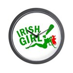 Redhead Irish Girl Wall Clock