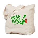 Redhead Irish Girl Tote Bag