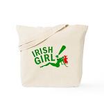 Redhead Irish Girl Tote Bag
