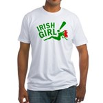 Redhead Irish Girl Fitted T-Shirt