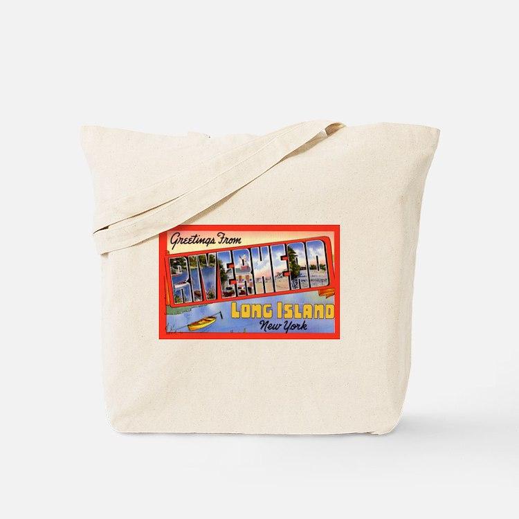 Riverhead Long Island NY Tote Bag