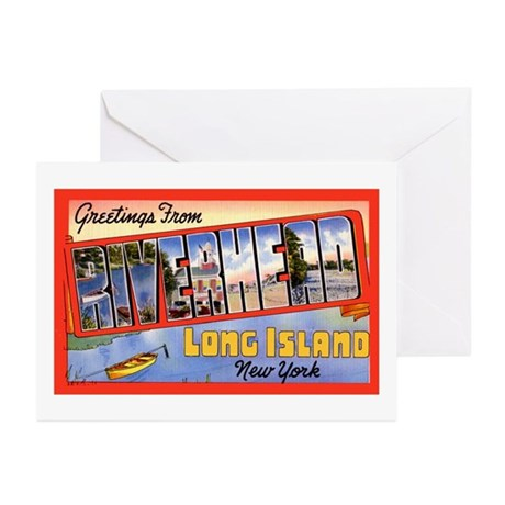 Riverhead Long Island NY Greeting Cards (Pk of 10)
