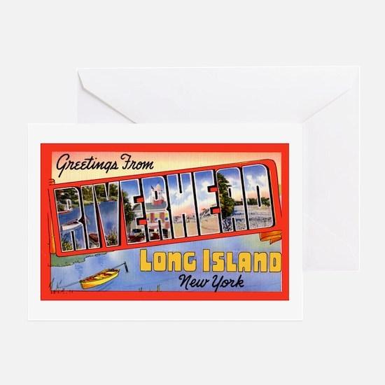 Riverhead Long Island NY Greeting Card