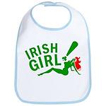 Redhead Irish Girl Bib