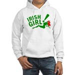 Redhead Irish Girl Hooded Sweatshirt