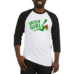 Redhead Irish Girl Baseball Jersey