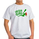 Redhead Irish Girl Light T-Shirt