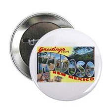 "Ruidoso New Mexico Greetings 2.25"" Button"