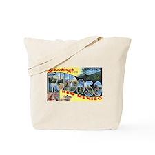 Ruidoso New Mexico Greetings Tote Bag