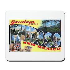 Ruidoso New Mexico Greetings Mousepad