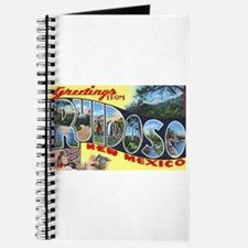 Ruidoso New Mexico Greetings Journal