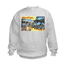 Ruidoso New Mexico Greetings (Front) Sweatshirt