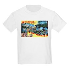 Ruidoso New Mexico Greetings (Front) T-Shirt