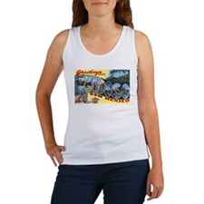 Ruidoso New Mexico Greetings (Front) Women's Tank