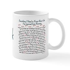 Running's Life Lessons - 5K Coffee Mug
