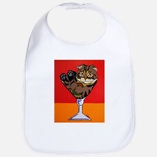 Scottish Fold Martini Bib