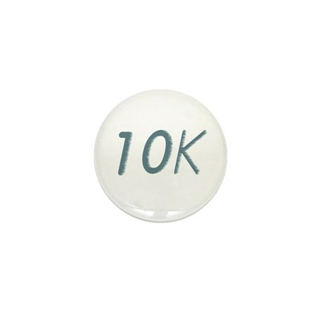 Running's Life Lessons - 10K Mini Button