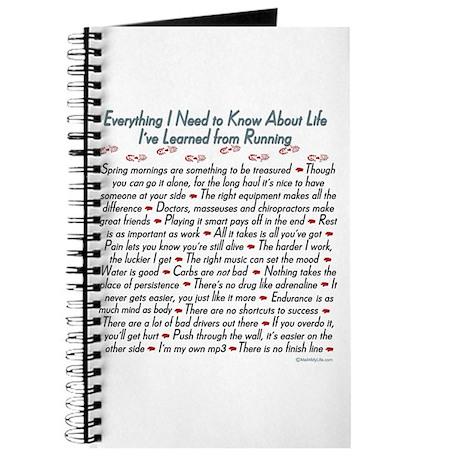 Running's Life Lessons - 10K Journal
