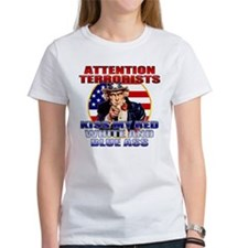 Anti Terrorist Uncle Sam Tee