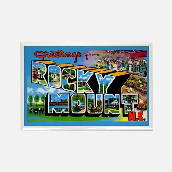Rocky Mount North Carolina Rectangle Magnet