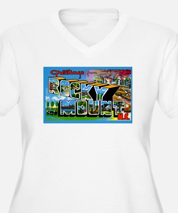 Rocky Mount North Carolina (Front) T-Shirt