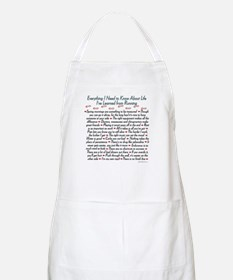 Running's Life Lessons BBQ Apron