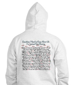 Running's Life Lessons Hoodie
