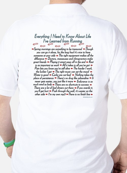 Running's Life Lessons T-Shirt