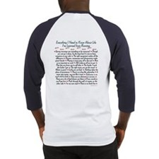 Running's Life Lessons Baseball Jersey