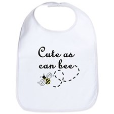 Cute as can Bee Bib
