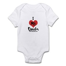 I heart my Doula Infant Bodysuit