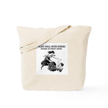 Fabric Sales Tote Bag