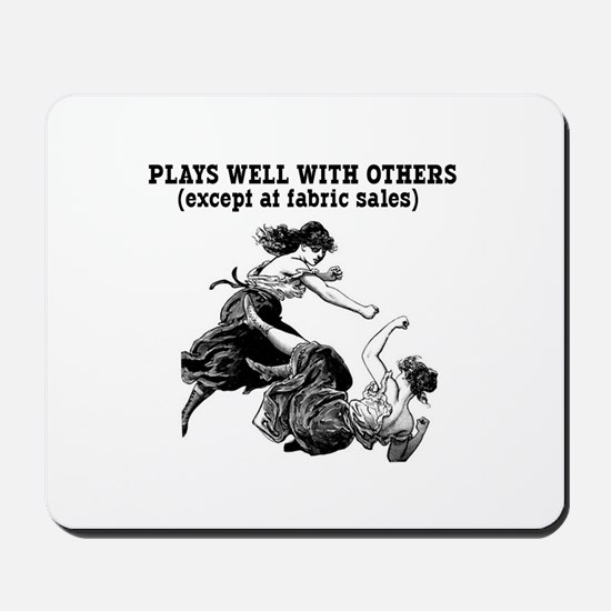 Fabric Sales Mousepad
