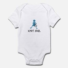 Retro Knit Girl Infant Bodysuit