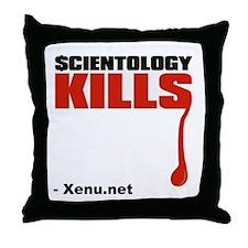 $cientology Kills Throw Pillow