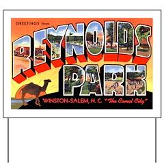 Reynolds Park North Carolina Yard Sign