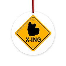 Skye X-ing Ornament (Round)