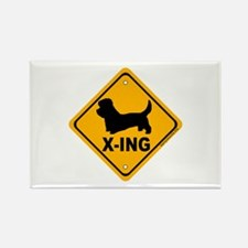 Dandie X-ing Rectangle Magnet (100 pack)