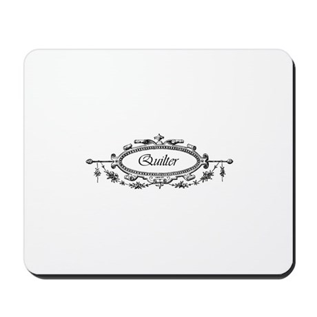 Quilter - Victorian Filigree Mousepad