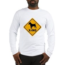 Bull Terrier X-ing Long Sleeve T-Shirt