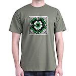 SHAMROCK DESIGN 1 Dark T-Shirt