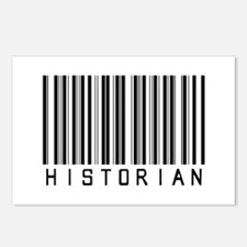 Historian Barcode Postcards (Package of 8)