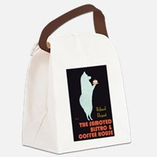 The Samoyed Bistro Canvas Lunch Bag