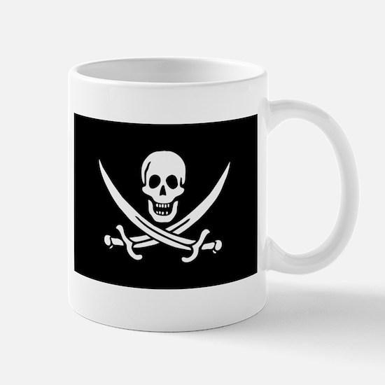 Calico Jack Rackham Pirate Mug